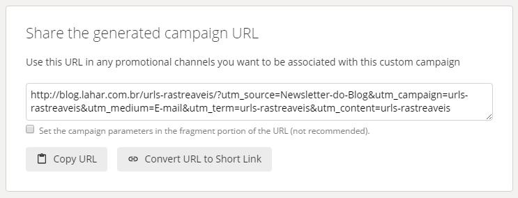 URL personalizada