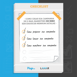 Checklist de E-mail Marketing