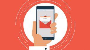 layout de e-mail marketing