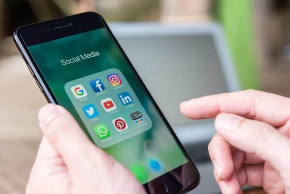 redes sociais mais usadas no brasil
