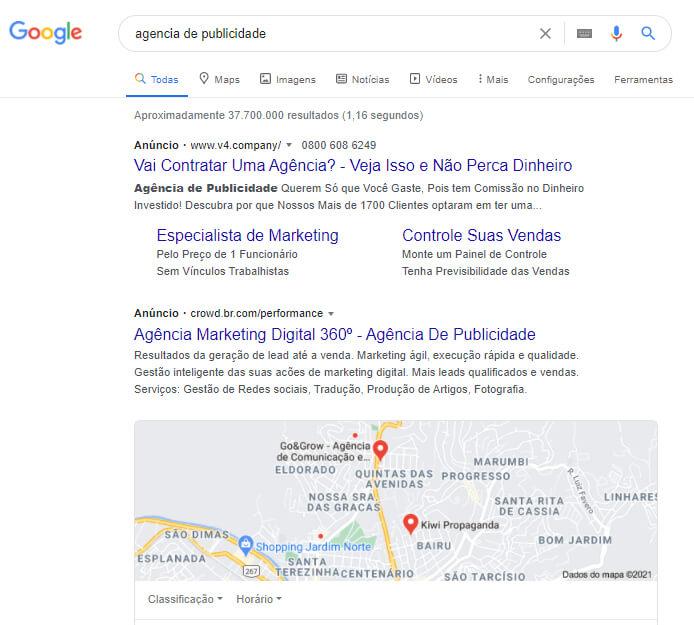 Google ads para agencias